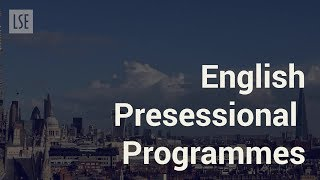 Download LSE Language Centre English Presessional Programme. Video