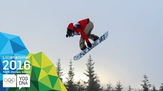 Download Snowboard Slopestyle - Chloe Kim (USA) wins Ladies' gold | Lillehammer 2016 Youth Olympic Games Video