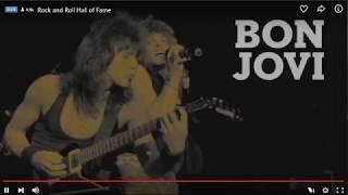 Download Rock & Roll Hall of Fame Presents: Bon Jovi Video