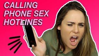 Download CALLING PHONE SEX HOTLINES Video
