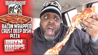 Download Little Caesars Bacon Wrapped Crust Deep Dish Pizza Video