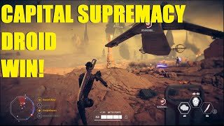 Download Star Wars Battlefront 2 - Capital Supremacy Droid army WIN! Commando droids are AMAZING! Video