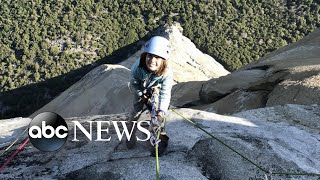 Download A 10-year-old became the youngest person to climb the El Capitan in Yosemite Park Video