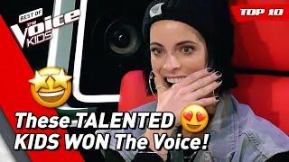 Download TOP 10   BEST WINNERS of The Voice Kids Video