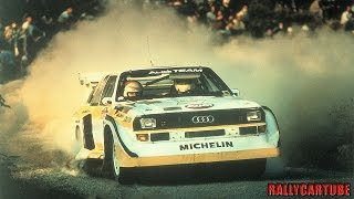 Download Audi Quattro S1 Rally Gruppo B Pure Engine Sound Video