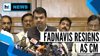 Download Devendra Fadnavis quits as CM, lashes out at Shiv Sena Video