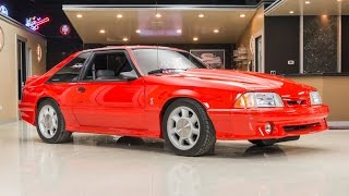 Download 1993 Ford Mustang SVT Cobra For Sale Video