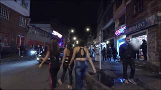 Download Mexico City's antros (nightclubs) Tout at night Gopro Hero 6 Night & Sound Test Video