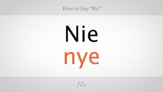 Download How to Say ″No″ in Polish | Polish Lessons Video