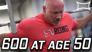 Download Stan ″The Rhino″ Efferding Squats 600lbs on his 50th Birthday Video