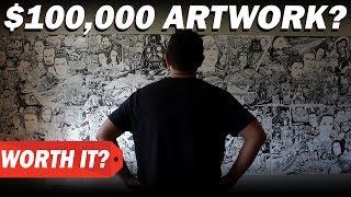 Download $0 vs $100000 ARTWORK? How much I charge for art commissions and original artwork Video