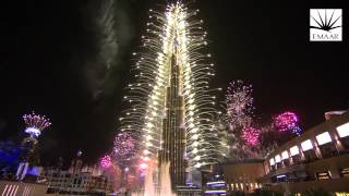 Download Official Burj Khalifa, Downtown Dubai 2014 New Year's Eve Highlights Video Video