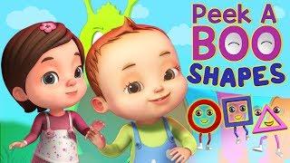 Download Peekaboo - Shapes Song | Baby Ronnie Rhymes | Videogyan 3D Rhymes | Kids Songs Cartoon Animation Video