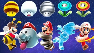 Download Super Mario Galaxy - All Power-Ups Video