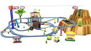Download train videos - cartoon for kids - train cartoon - trains for kids - car cartoon Video