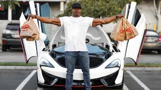Download GROCERY SHOPPING IN A MCLAREN | HOW MUCH WILL FIT? WHAT I EAT Video