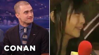 Download Daniel Radcliffe's Japanese Talk Show Prank - CONAN on TBS Video