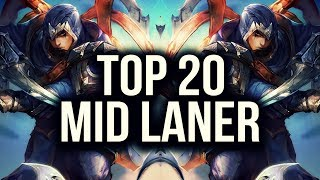 Download Top 20 MID LANER Plays | League of Legends Video