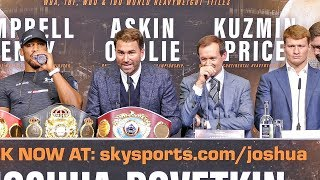 Download Anthony Joshua vs Alexander Povetkin FINAL PRESS CONFERENCE Video