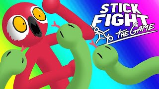 Download Stick Fight Funny Moments - Shotguns and Snakes! Video
