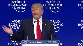 Download Donald Trump Speaks at Davos 2018 Video