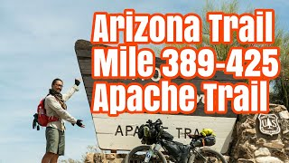 Download Spectacular Apache Trail and Roosevelt Lake in Tonto, Arizona Trail thru bikepacking Vlog Ep 9 Video