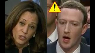 Download Kamala Harris Makes Mark Zuckerberg STUTTER! He Plays Dumb on Tracking People and Facebook COVER UP! Video
