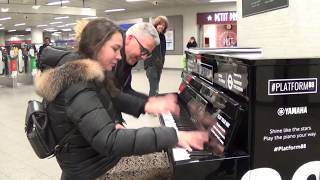 Download How To Make A Happy Piano Girl Even Happier Video