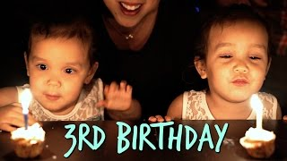 Download Miya and Keira's 3rd Birthday! - March 07, 2017 - ItsJudysLife Vlogs Video