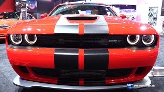Download 2016 Dodge Challenger SRT Hellcat - Exterior and Interior Walkaround - 2016 New York Auto Show Video