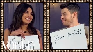 Download Priyanka Chopra & Nick Jonas Play the Newlywed Game | Vogue Video
