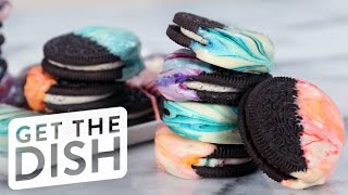 Download How to Make Marbled Oreos in 3 Easy Steps | Get the Dish Video