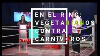 Download En el ring. Vegetarianos contra carnívoros!. Video