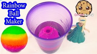 Download DIY RAINBOW Bouncy BAll Mad Lab Ball Creator Do It Yourself Set Playset Kit Cookieswirlc Video Video