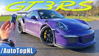 Download PORSCHE 911 991 GT3 RS REVIEW 300km/h on AUTOBAHN (NO SPEED LIMIT) by AutoTopNL Video