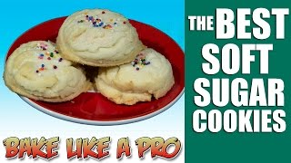 Download The BEST Easy Soft Sugar Cookies recipe Video
