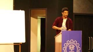 Download Sushant Singh Rajput at AVENUES 2016 , SJMSOM IIT MUMBAI Video