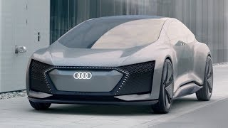 Download Audi Aicon Concept - IAA 2017 (Driving, Interior & Exterior Footage) Video