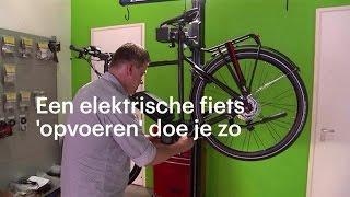 Download Een elektrische fiets opvoeren: 'fluitje van een cent' - RTL NIEUWS Video