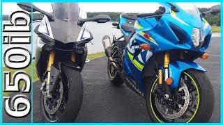 Download New 2017 Suzuki GSX-R1000R vs Yamaha R1M Video