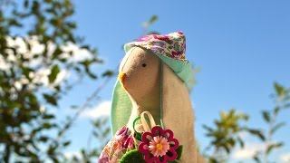 Download Панама для Тильда-зайца. Мастер-класс Video