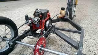 Download Chainsaw three-wheeler. Engine Go-kart Video