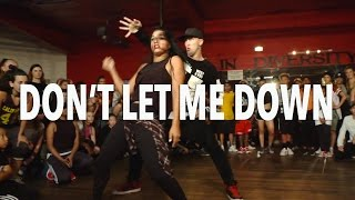 Download ″DON'T LET ME DOWN″ - Chainsmokers ft Daya | @MattSteffanina Choreography Video
