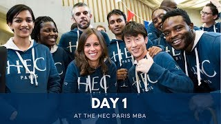 Download Day 1 at the HEC Paris MBA Video