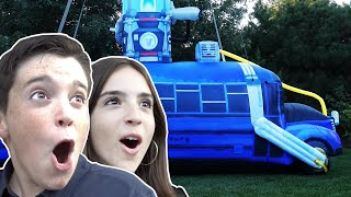 Download SURPRISED THEM WITH A BATTLE BUS IN REAL LIFE!! Video