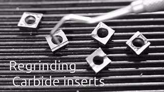 Download Regrinding carbide inserts Video