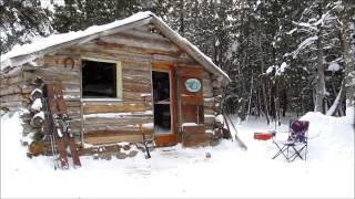 Download Martin's Cabin Part 20 Holed up at 30 Below Video
