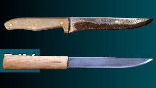 Download Как сделать Макири из старого кухонного ножа. Реставрация, заточка и травление. #Стройхак Video