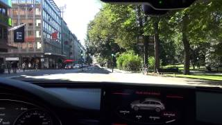 Download Audi RS6 in Stockholm during President of the United States visit city is dead Video