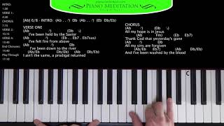 Download All My Hope (Crowder) - How to Play on the Piano Video